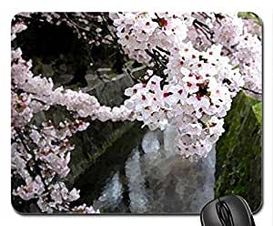 Nature's Beauty Mouse Pad, Mousepad (Flowers Mouse Pad, 10.2 x 8.3 x 0.12 inches)