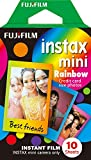 Photo : Fujifilm Instax Mini Rainbow Film - 10 Exposures
