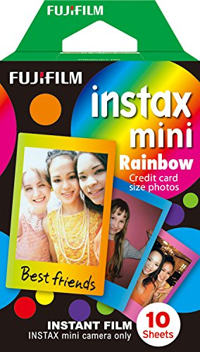 Fujifilm Instax Mini Rainbow Film – 10 Exposures