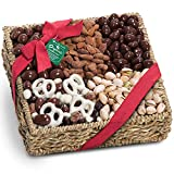 Mendocino Organic Chocolate and Nuts Gift Basket