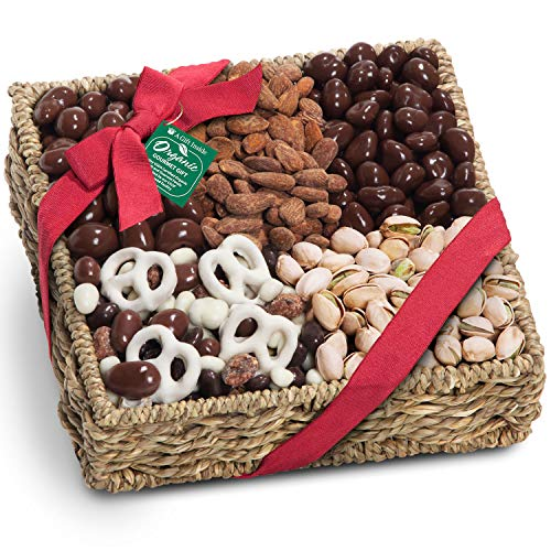Mendocino Organic Chocolate Nuts Basket product image