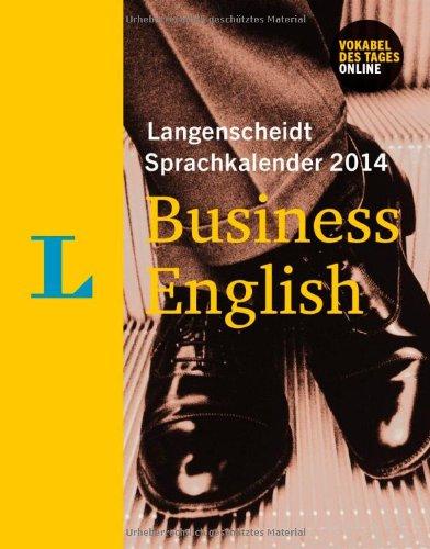 Langenscheidt Sprachkalender 2014 Business English - Kalender