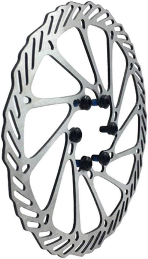 BMX Bicicleta de monta/ña MTB barsku 160mm 180mm 203mm Rotor de Freno de Disco con 6 Pernos rotores de Bicicleta de Acero Inoxidable Aptos para Bicicleta de Carretera