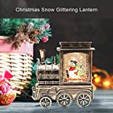 Christmas Lighted Water Lantern Glittering, Musical