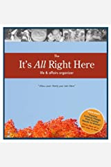 The It's All Right Here Life & Affairs Organizer Ring-bound