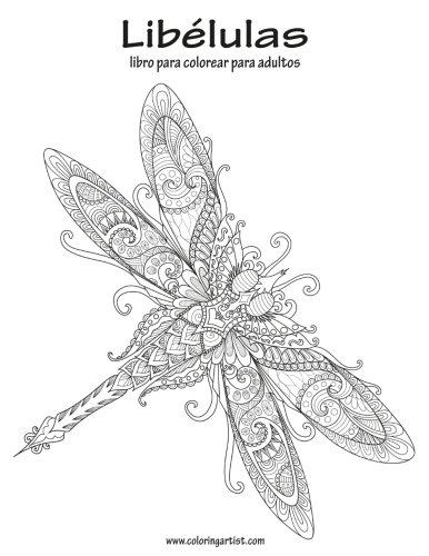 Amazon.com: Libélulas libro para colorear para adultos 1 (Volume 1 ...