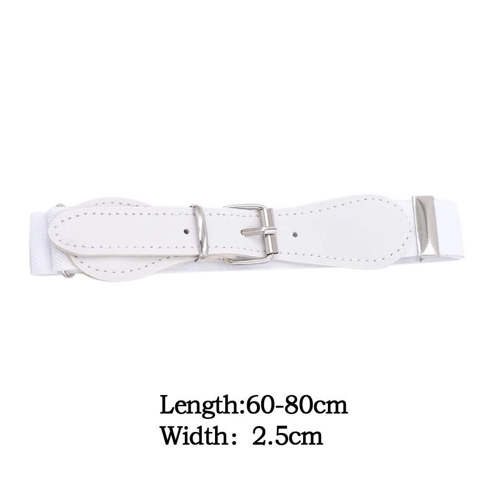 Kids Adjustable Elastic Belts For Toddler Stretch Belts For Boys And Girls