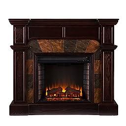 Cartwright Convertible Electric Fireplace - Classic Espresso