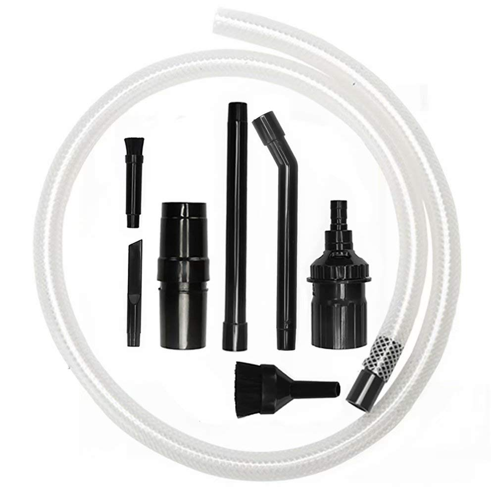 Micro Vacuum Attachment 7pcs Kit for 1-1/4 inch Vacuum Cleaner Household Vacuum Part for Computers Flexible Hose Vac Accessories(32mm)