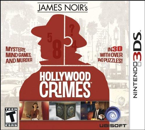 3DS James Noir's Hollywood Crimes - Nintendo 3DS Standard Edition