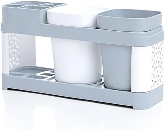 Nordic Style - Juego de Vasos para cepillos de Dientes, fácil de Guardar, Estante de Almacenamiento, Soporte para ...