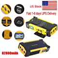 Jump Starter Emergency Booster Car Battery Portable Charger Led 82800mAh 4USB LCD Display 12 V,16 V,19 V