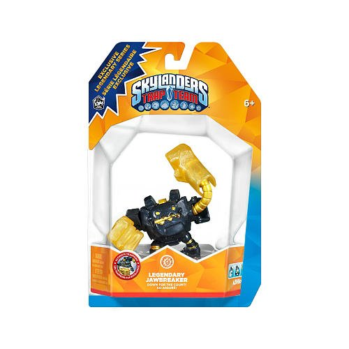 Skylanders TRAP TEAM Exclusive Figure Legendary Jawbreaker