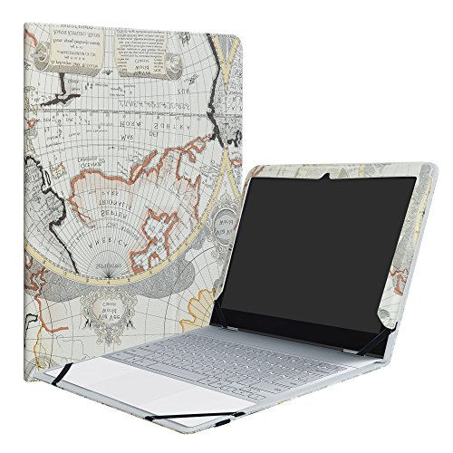 Google Pixelbook Case,LiuShan PU Leather Folio Carring Cover for 12.3
