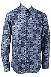Goodcosplay Men's Cosplay Heath Ledger Joker Hexagon Shirt Outfit Costume