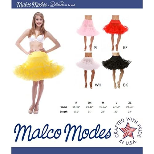 12f9f4ce6 60%OFF Luxury Dance Petticoat Pettiskirt Underskirt Tutu Crinoline by Malco  Modes
