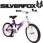 """SilverFox Damsel 18"""" Bike - Purple an..."""