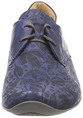 Think Donna 84 Stringate Scarpe 282102 Jeans Blu Brouge Kombi Chilli rqZXwr