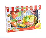 Cot Size Egg Crate COTTONTAIL Kids Kitchen Fun Seafood Hot Pot Dinner Cutting Food Playset with Egg and Vegetable