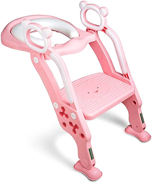 LTAO-Bancos Escalera para niños Escalera para baño para Inodoro ...