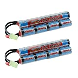Tenergy 2 Pack 9.6V NiMH 1600mAh Rechargeable