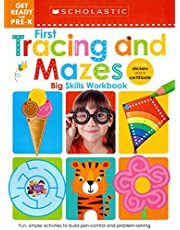 First Tracing and Mazes Get Ready for Pre-K Workbook: Scholastic Early Learners (Big Skills Workbook)