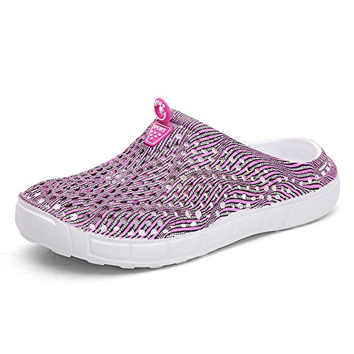 Waterweight Pink Water Unisexes Sandales Pantoufles FZDX à Séchage Chaussures Summer Rapide Garden Shoes 1619 8wBffq7v