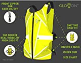 Reflective Running Vest | 25% Reflective Tape
