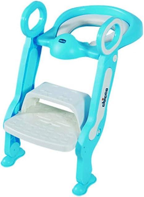 Escalera de baño para niños inodoro escalera infantil plegableB: Amazon.es: Bebé