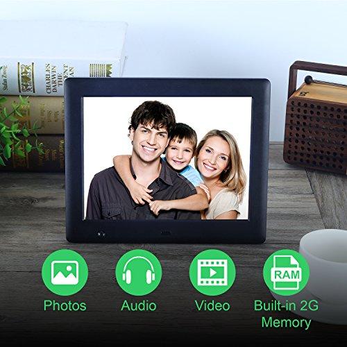 free shipping Apzka 8-Inch HD Digital Photo Frame with Motion Sensor ...