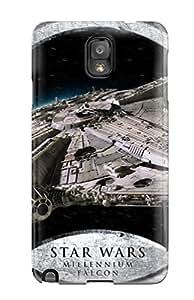 High Grade Flexible Tpu Case For Galaxy Note 3 Star Wars