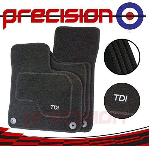 Precision Set of Fitted Tailored Car TDi Logo Mats FBALM10