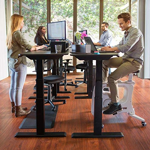FLEXISPOT Home Office Under Desk Exercise Bike Height Adjustable Cycle - Deskcise Pro by FLEXISPOT (Image #7)