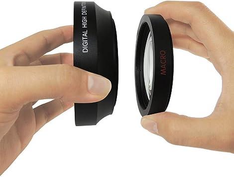 Macro Nikon 1 J4 10x High Definition 2 Element Close-Up Lens 62mm 67mm w.