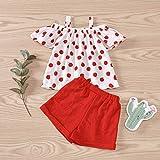Toddler Baby Girls Clothes Polka Dot Tops Blouse