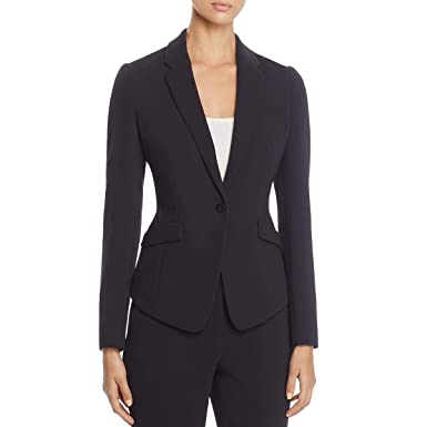 5e4ffe08a44 Hugo Boss BOSS Womens Jalania Business Office One-Button Blazer at Amazon Women s  Clothing store