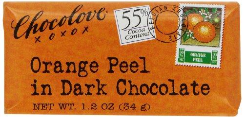 Chocolove Orange And Dark Chocolate Mini Bar, 1.2-Ounces (Pack of 12)