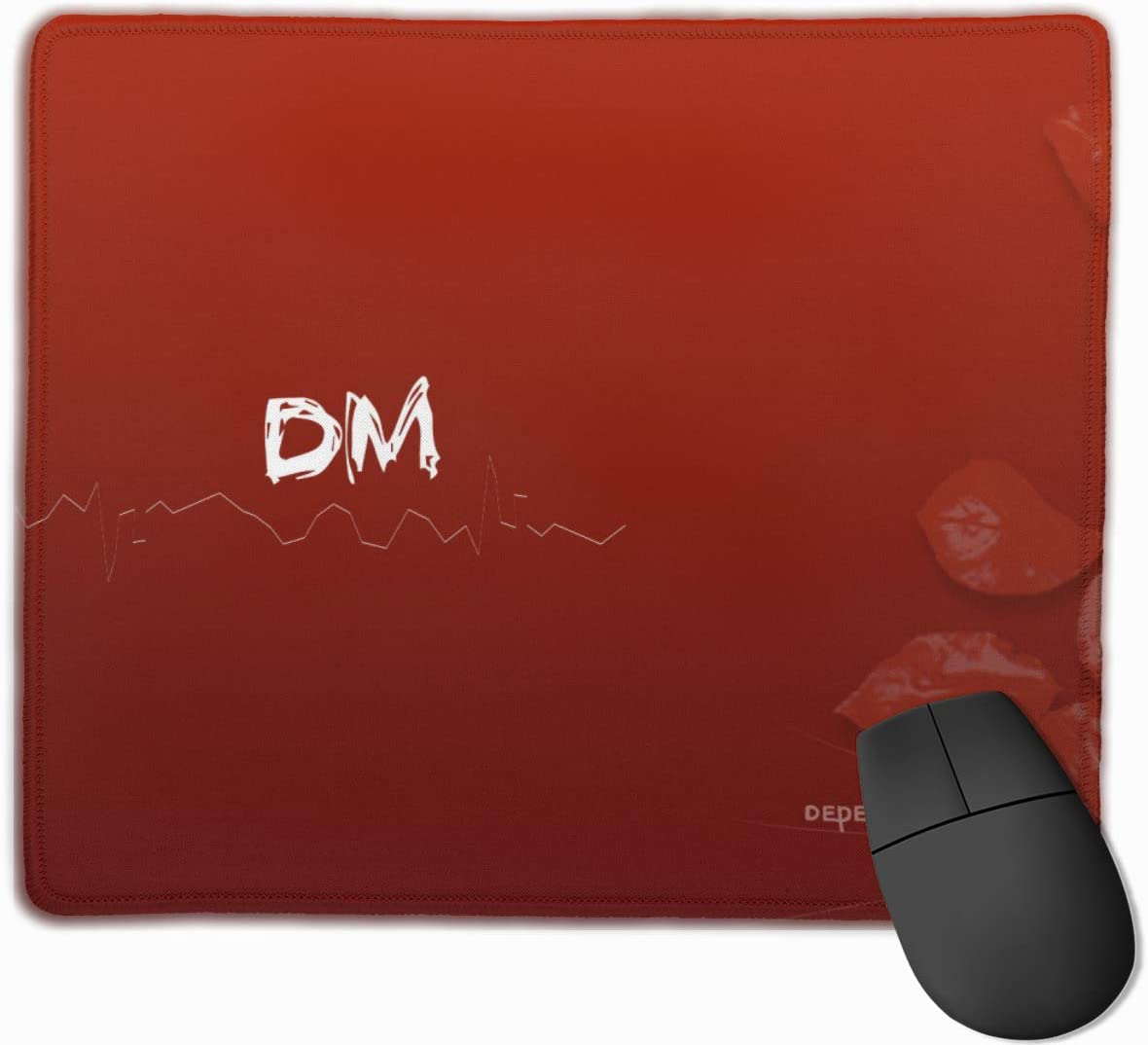 Anti Slip Mouse Mat for Desktops Computer Depeche Mode Mouse Pad with Designs