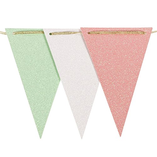 Pink And Mint Baby Shower Decorations Amazon