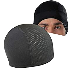 Description:Features:Helmet Inner Cooling Cap is an Inner Cap that is worn under theHelmet. Helmet Inner Cooling Cap is both Soft and Breathable. Ithelps absorb and retain the body heat and reduce the sweat build up.It helps absorb and retain...