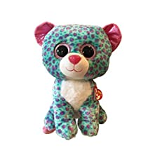 Ty Beanie Boos Sydney Leopard Large 16 (Claire's Exclusive) by Ty Beanie Boos