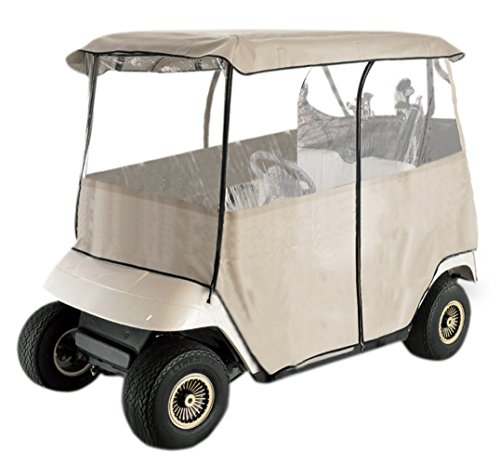 Leader Accessories Golf Cart Storage Cover Deluxe Driving Enclosure Fit EZ Go, Club Car, Yamaha Cart (2-person) -
