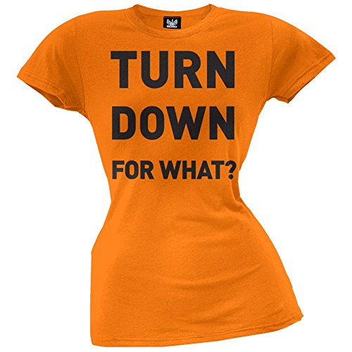 Old Glory Damen T-Shirt Orange Orange