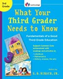 What Your Third Grader Needs to Know, E.D. Hirsch Jr., 0385336268