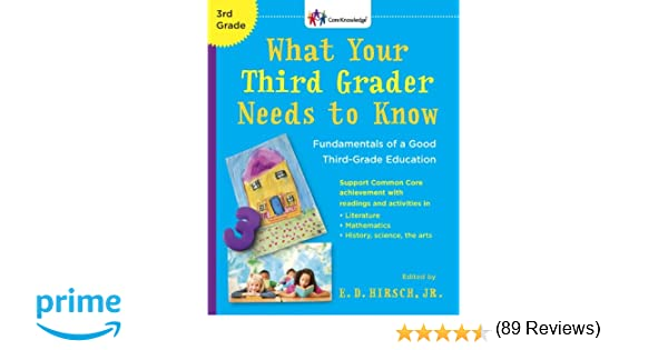What Your Third Grader Needs to Know (Revised Edition ...