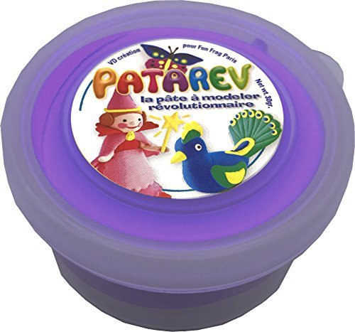 Modelling Clay - Patarev - Refill : Pot : Violet - 30 g by Sentosphere - Jeux