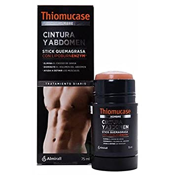 Amazon.com : THIOMUCASE ALMIRALL MEN STICK BELLY & ABDOMINAL ...