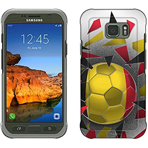 Samsung Galaxy S7 Active Case, Snap On Cover by Trek Soccer Ball Belgium Slim Case Sales