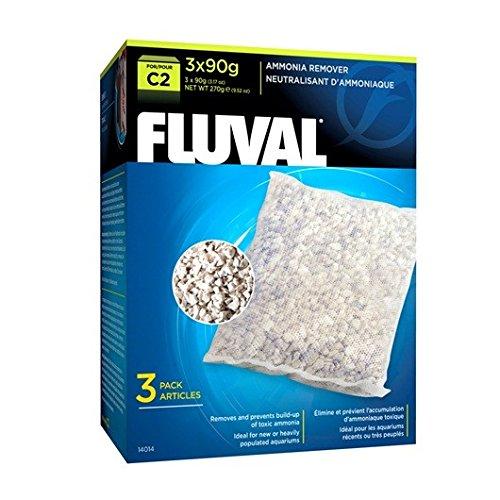 Fluval C2 Ammonia Remover - 3-Pack (Hagen Fluval Ammonia Remover)