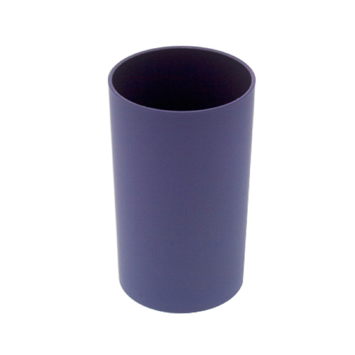 'Carpemodo Toothbrush Holder Tray Rubber Purple Lilac/Height 11 cm Diameter Approx. 6 cm/Round/Nicefli Collection